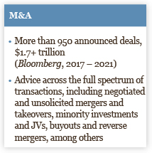 Healthcare M&A Infographic